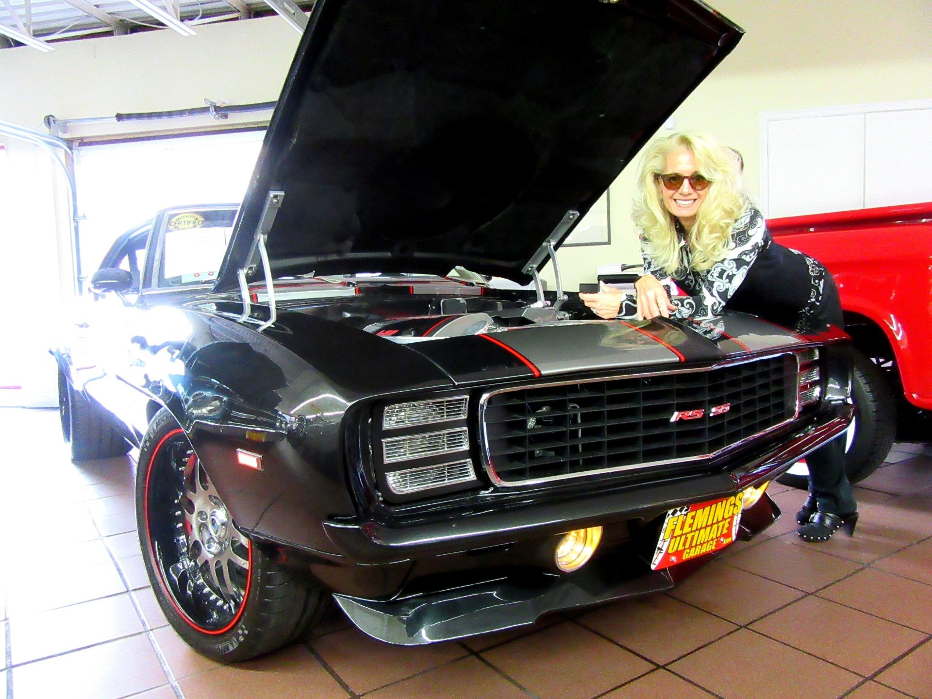 1969 Chevrolet Camaro Rs Ss Show Car