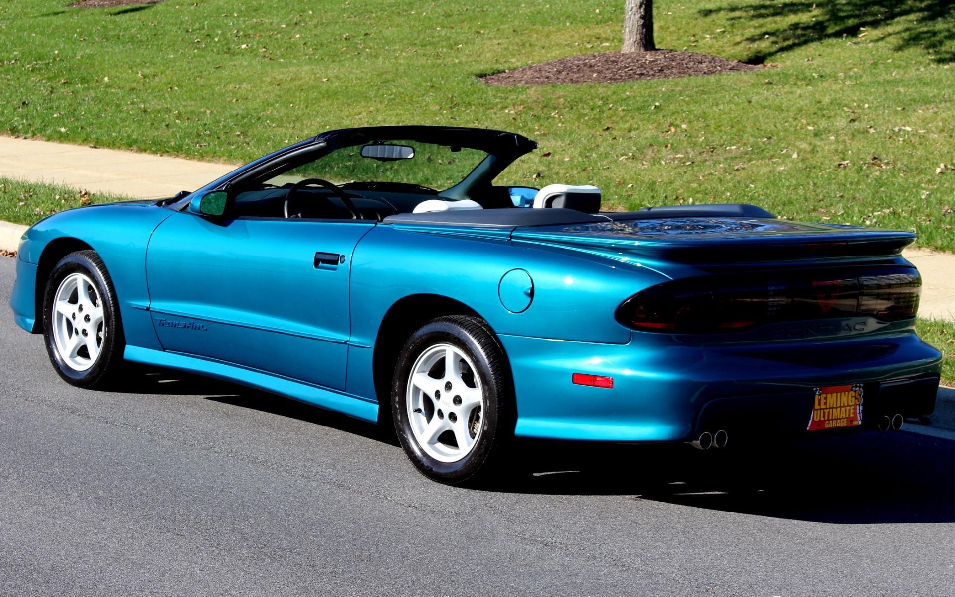 1996 pontiac firebird trans am with only 8k original miles. Black Bedroom Furniture Sets. Home Design Ideas