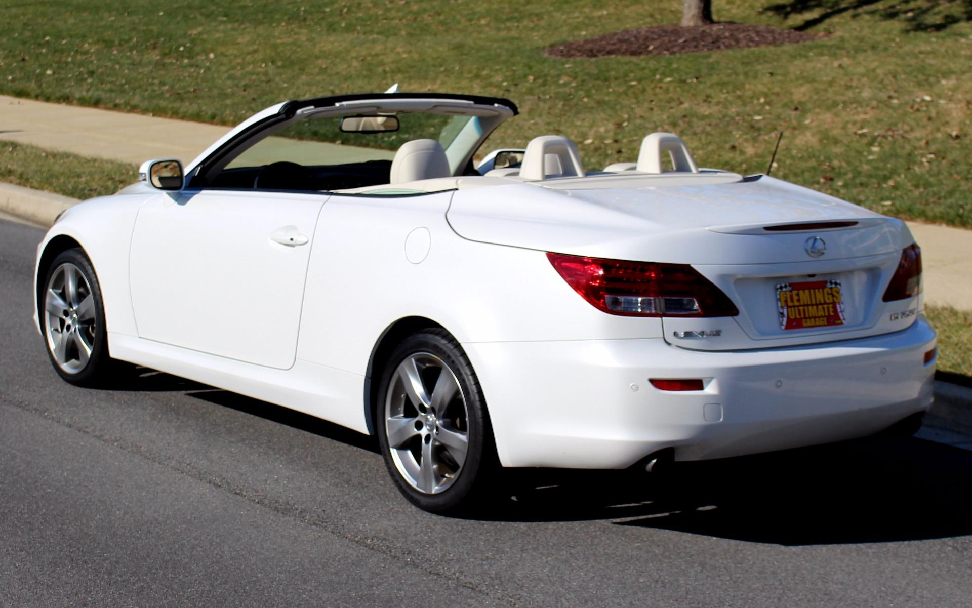2010 lexus is 250 convertible. Black Bedroom Furniture Sets. Home Design Ideas