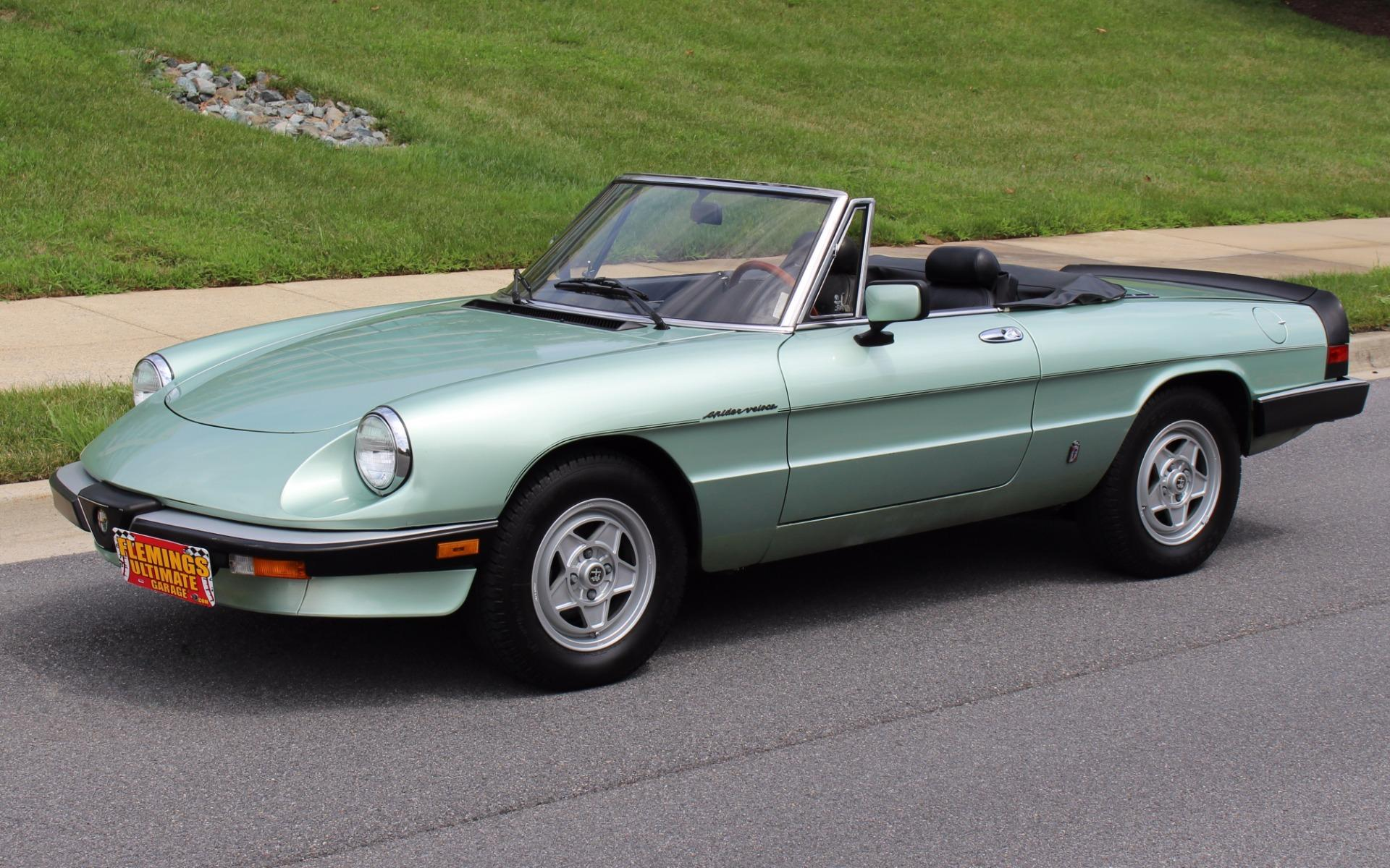 1985 alfa romeo spider veloce. Black Bedroom Furniture Sets. Home Design Ideas