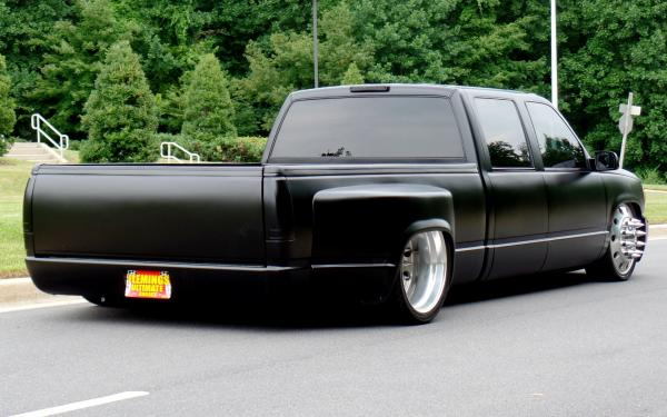1998 Gmc Sierra 3500 Protouring Custom Dually