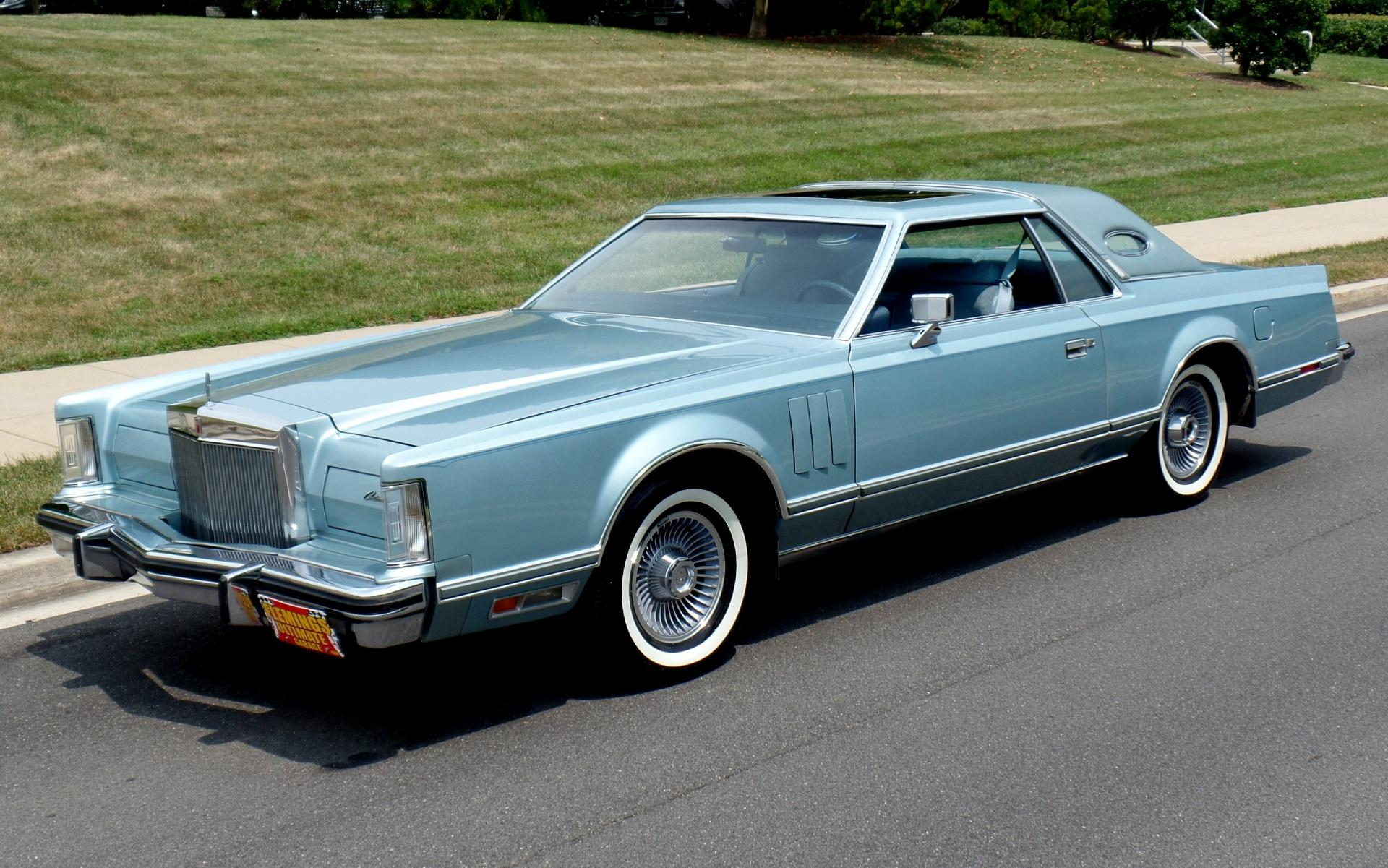 1979 Lincoln Continental Mark V Continental One Owner