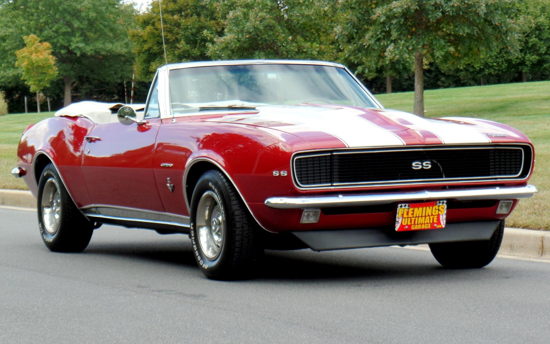1967 Chevrolet Camaro Rs Ss Convertible
