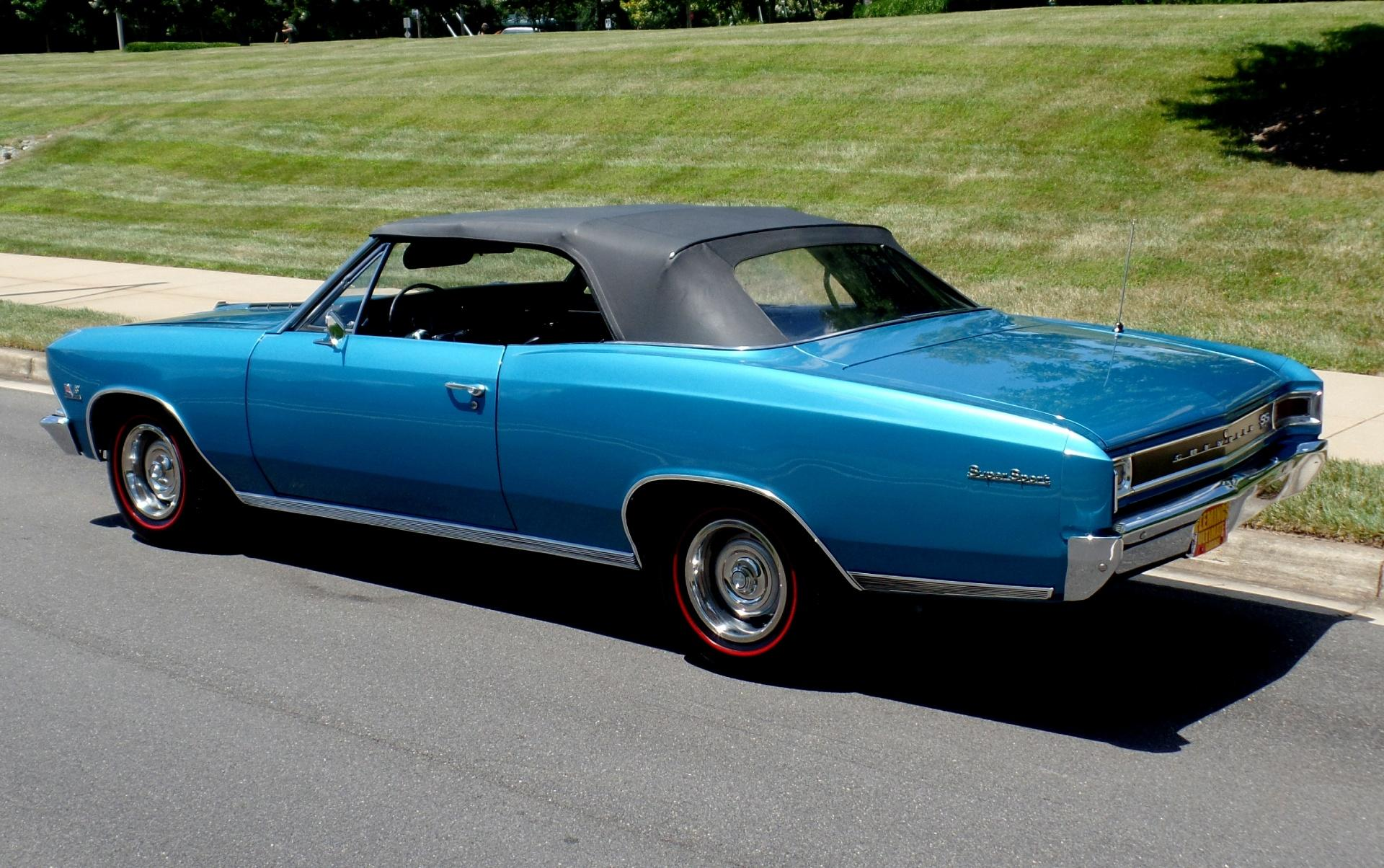 1966 Chevrolet Chevelle Ss396 Convertible Chevy Ss 396