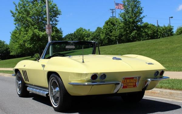 1966 Chevrolet Corvette 327/350 Roadster