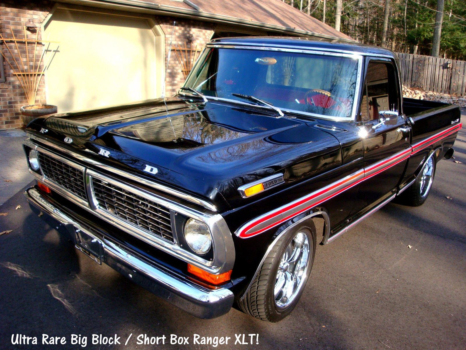 1970 ford f100 price drop ranger xlt short box. Black Bedroom Furniture Sets. Home Design Ideas