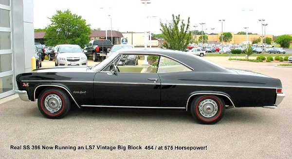 1966 Chevrolet Imapala SS 396 - PRICE REDUCED!