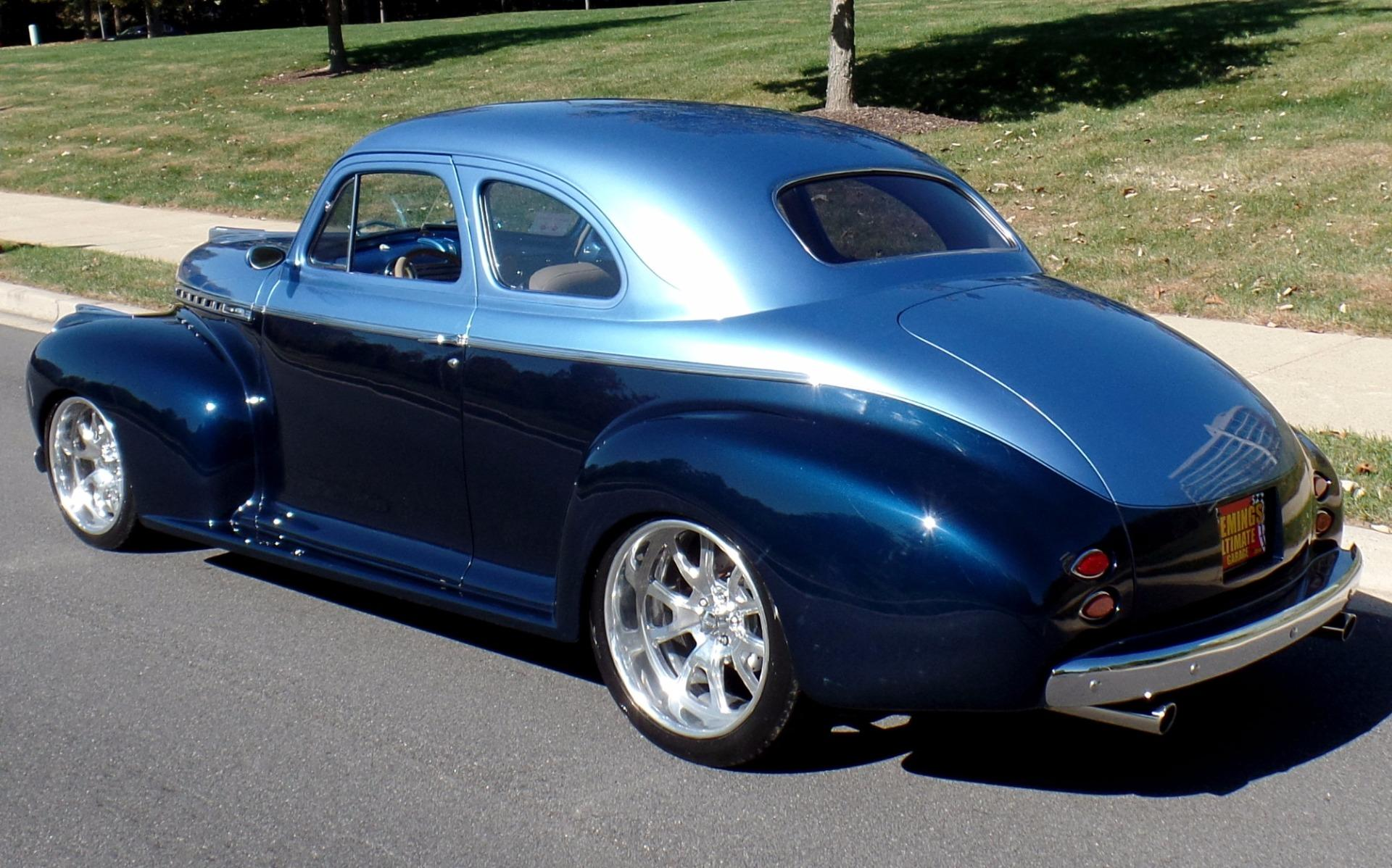 Gm 700r4 Transmission >> 1941 Chevrolet Sedan Delivery Pro Touring Custom Coupe