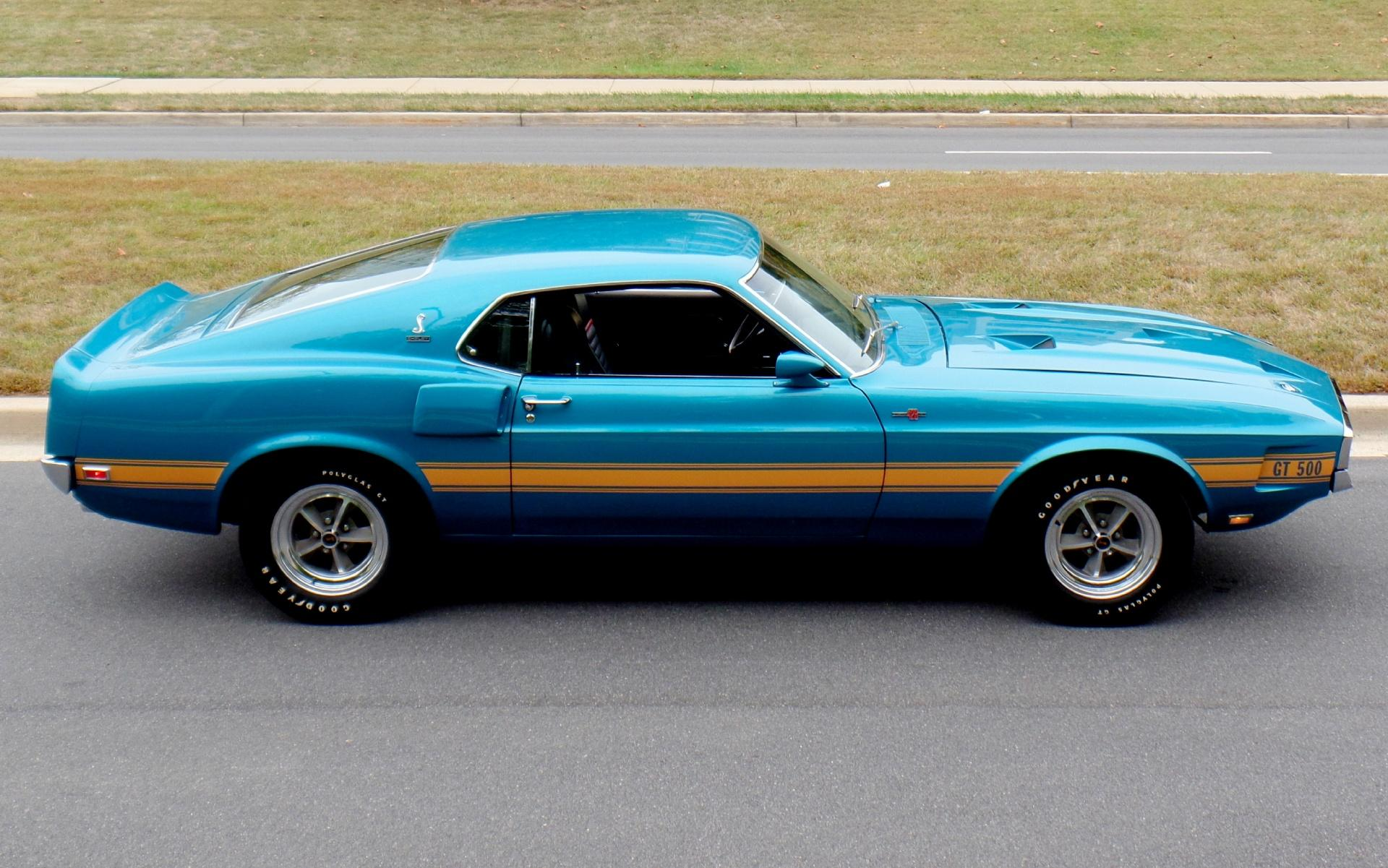 1969 Shelby Mustang Gt500 Ford