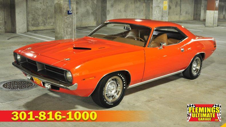 1970 Plymouth Barracuda  U0026 39 Cuda 440