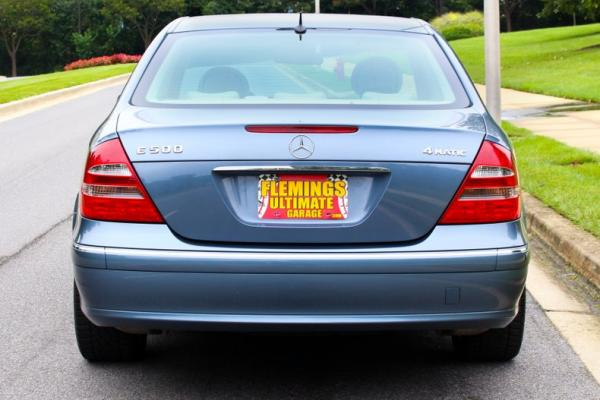 2004 Mercedes-Benz E500 4-matic