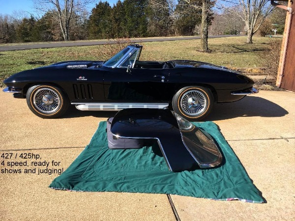 1966 CHEVROLET CORVETTE - PRICE DROP! STING RAY ROADSTER