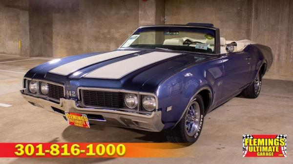 1969 Oldsmobile 442 Convertible