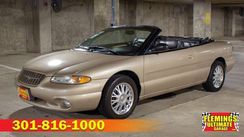1998 Chrysler Sebring Convertible