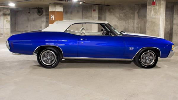 1971 Chevrolet Chevelle Convertible SS454