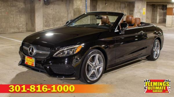 2018 Mercedes-Benz C300 4Matic Convertible
