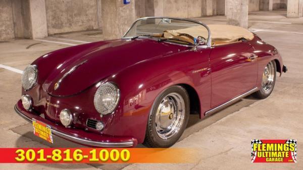 1957 Porsche Speedster Cabriolet