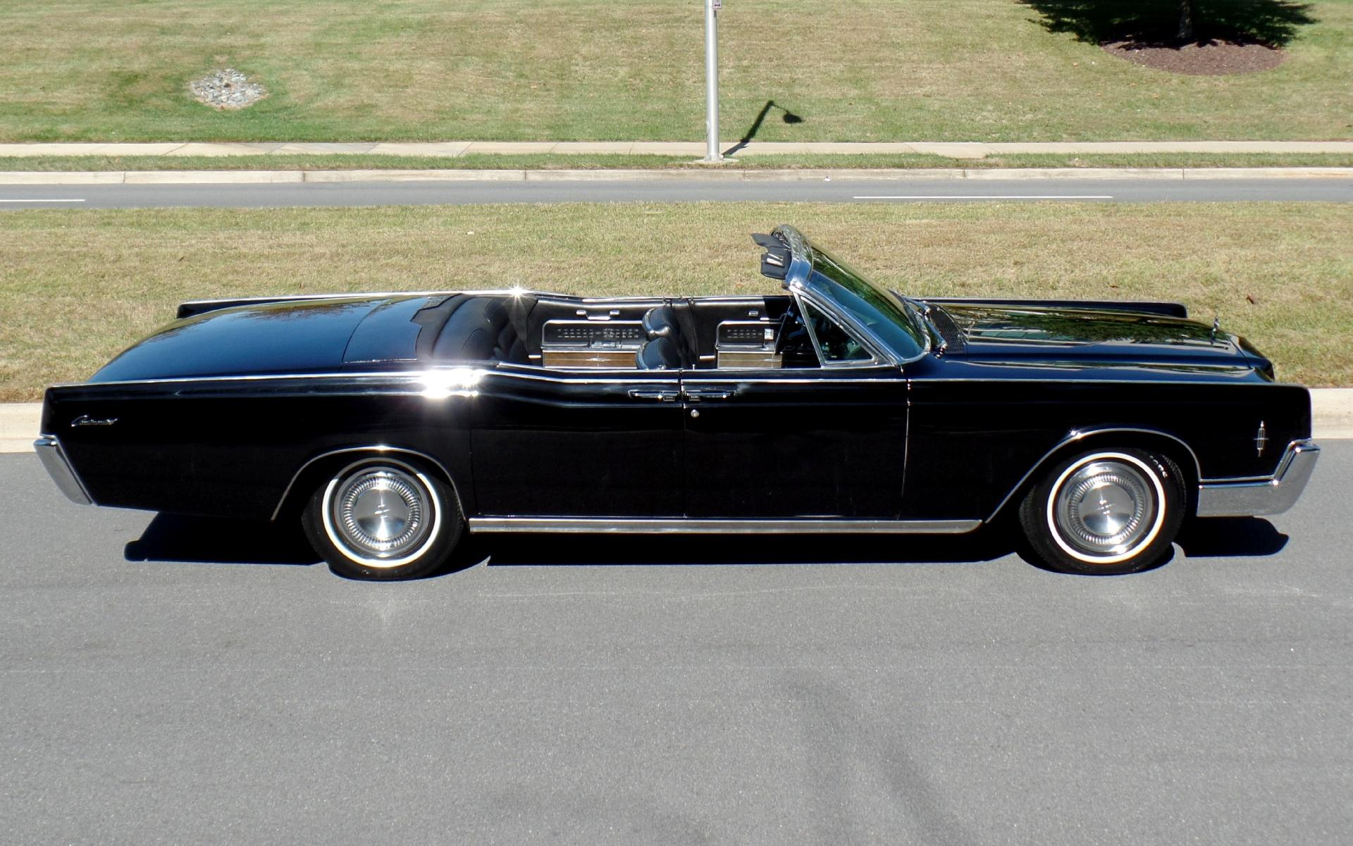 1966 Lincoln Continental Triple Black Suicide Door Convertible 1 Of Only  3,180 Produced!
