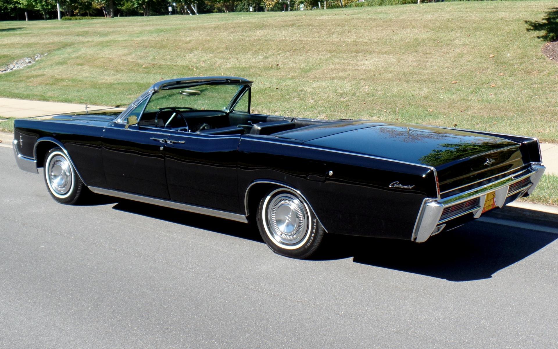 1966 Lincoln Continental Triple Black Suicide Door