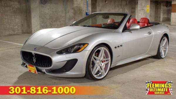 2014 Maserati Gran Turismo Sport Convertible