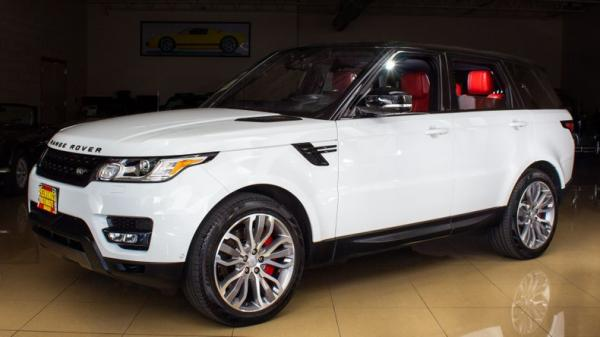 2017 Land Rover Range Rover Sport V8 Supercharged Dynamic
