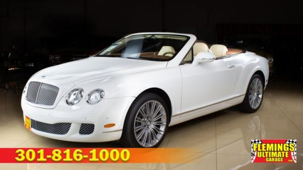 2010 Bentley Continental GTC Speed Convertible