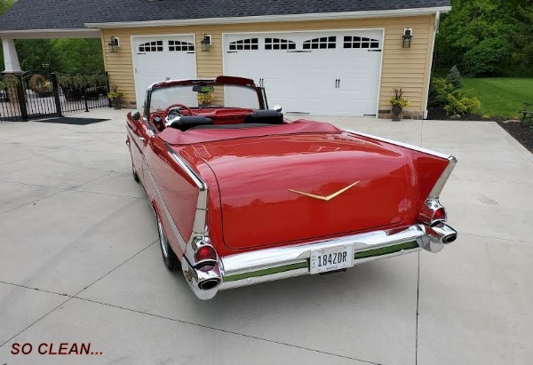 1957 Chevrolet Belair Convertible - SOLD Resto Mod Pro Touring - SOLD!