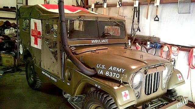 1955 Willys M170 Show Piece Museum - Collector Quality