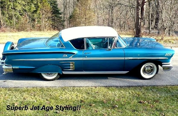 1958 Chevrolet Impala - SOLD!! Sport Coupe - Official - No more Impalas To Be Produced.