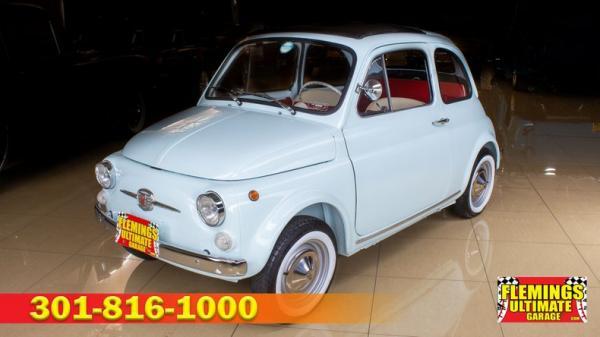 1968 Fiat 500 Cabrio