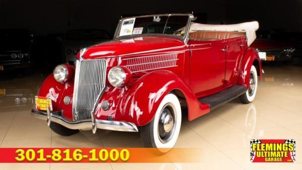 1936 Ford Phaeton Convertible