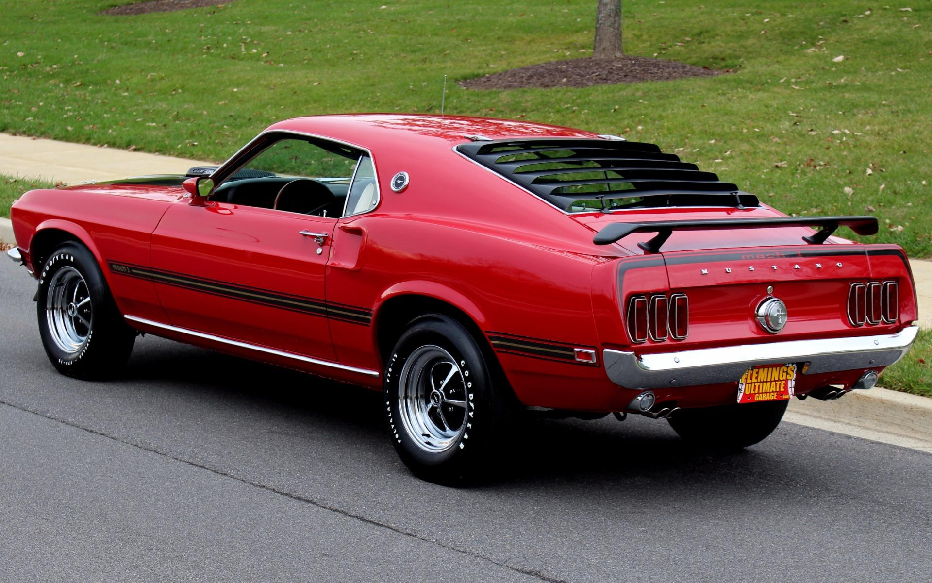 1969 Ford Mustang Mach 1 428 Cobra Jet!