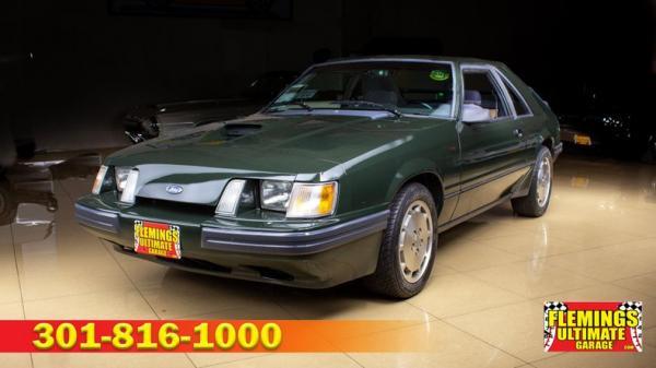1985 Ford Mustang SVO Hertz