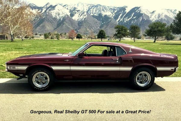 1970 Shelby GT 500 - SOLD!