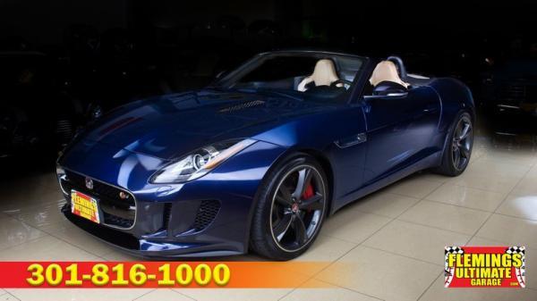 2015 Jaguar F-TYPE S Convertible