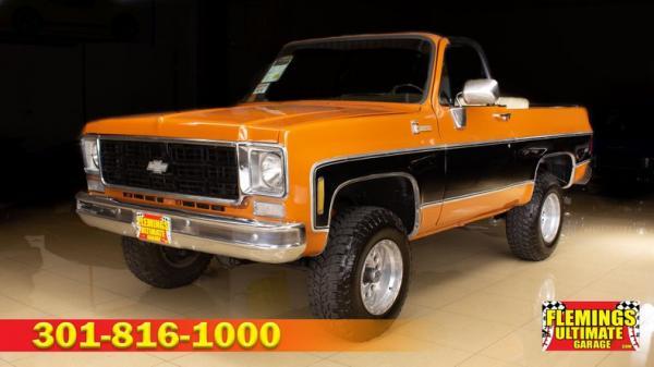 1975 Chevrolet Blazer 4X4 Convertible