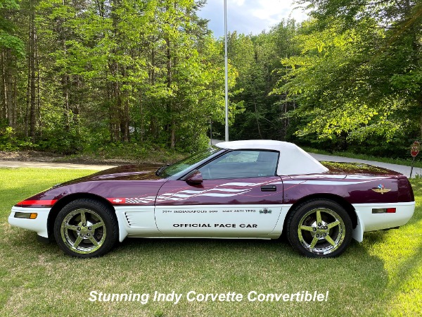 1995 Chevrolet Corvette Indy Pace Car PRICE JUST DROPPED!