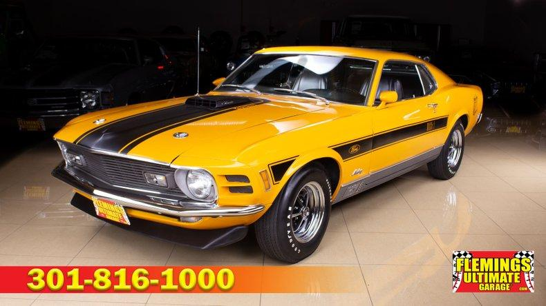 1970 Ford Mustang Mach 1 Twister