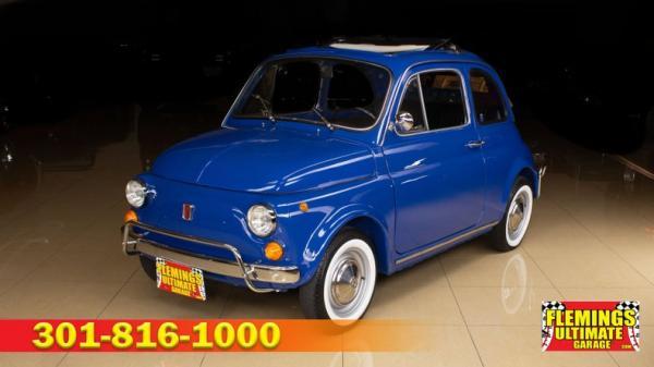 1970 Fiat 500L Cabriolet