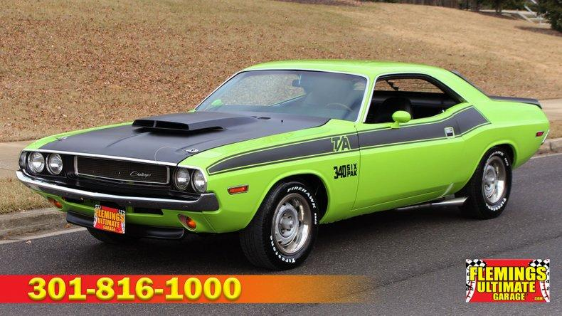 1970 Dodge Challenger T/A 340 6-pack