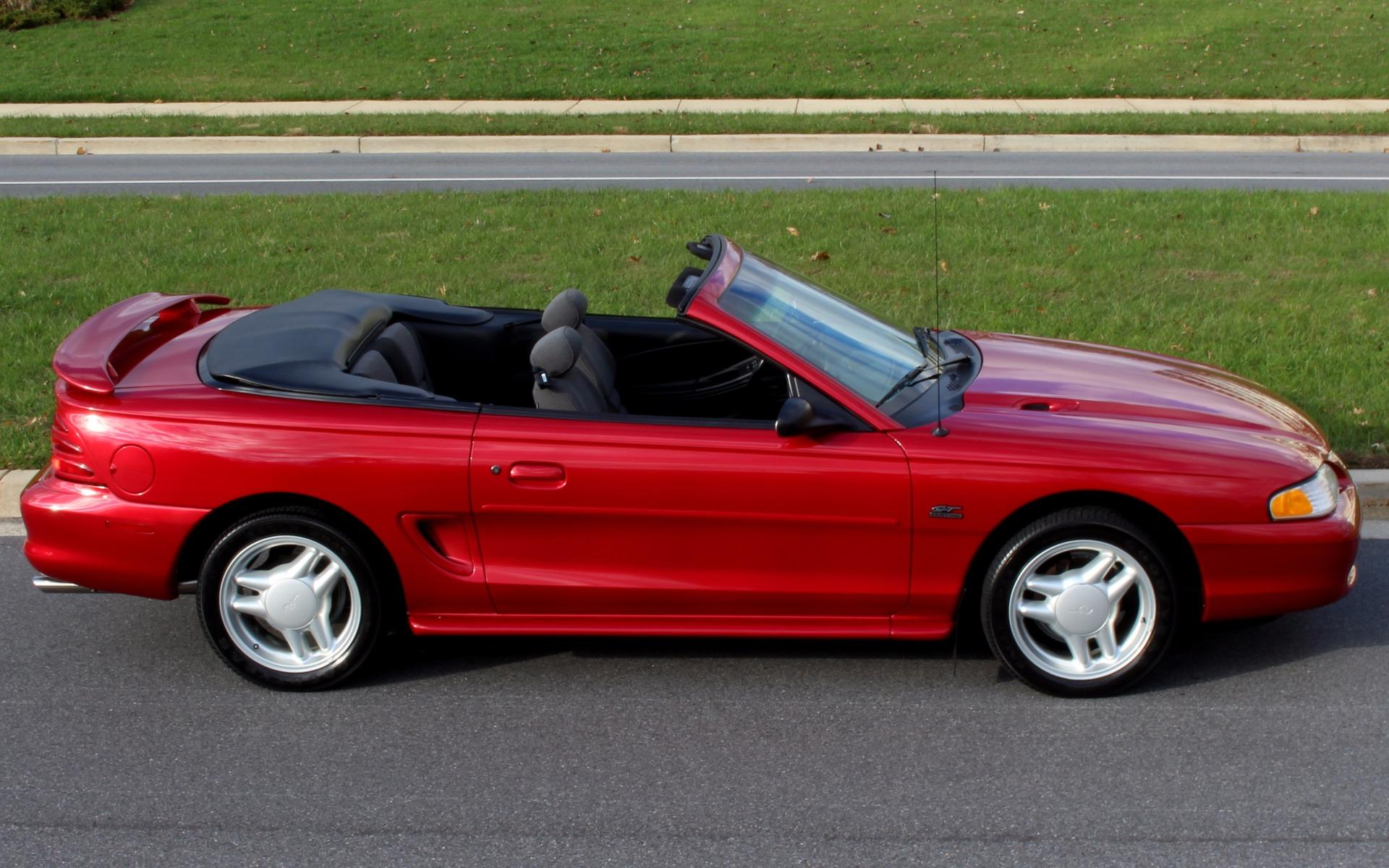 1994 Ford Mustang Gt Convertible With 12k Original Miles