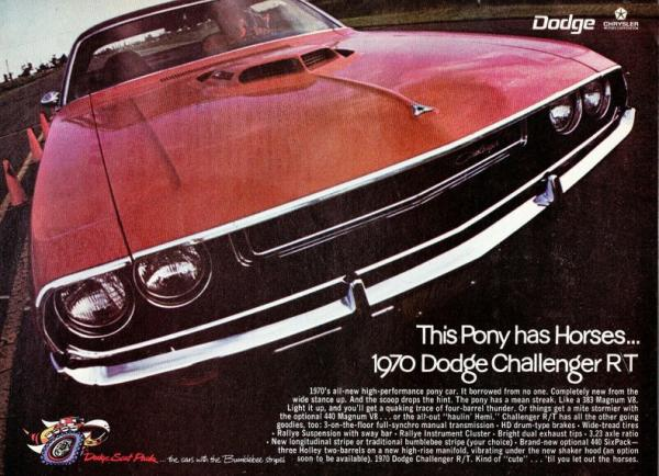 1970 Dodge Challenger 440-6 pack RT/SE