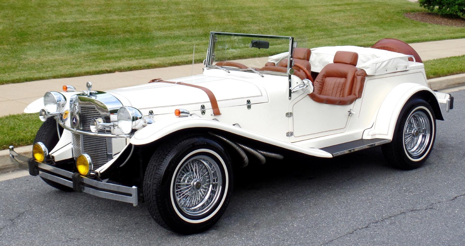 1929 mercedes benz ssk replica roadster for Mercedes benz original