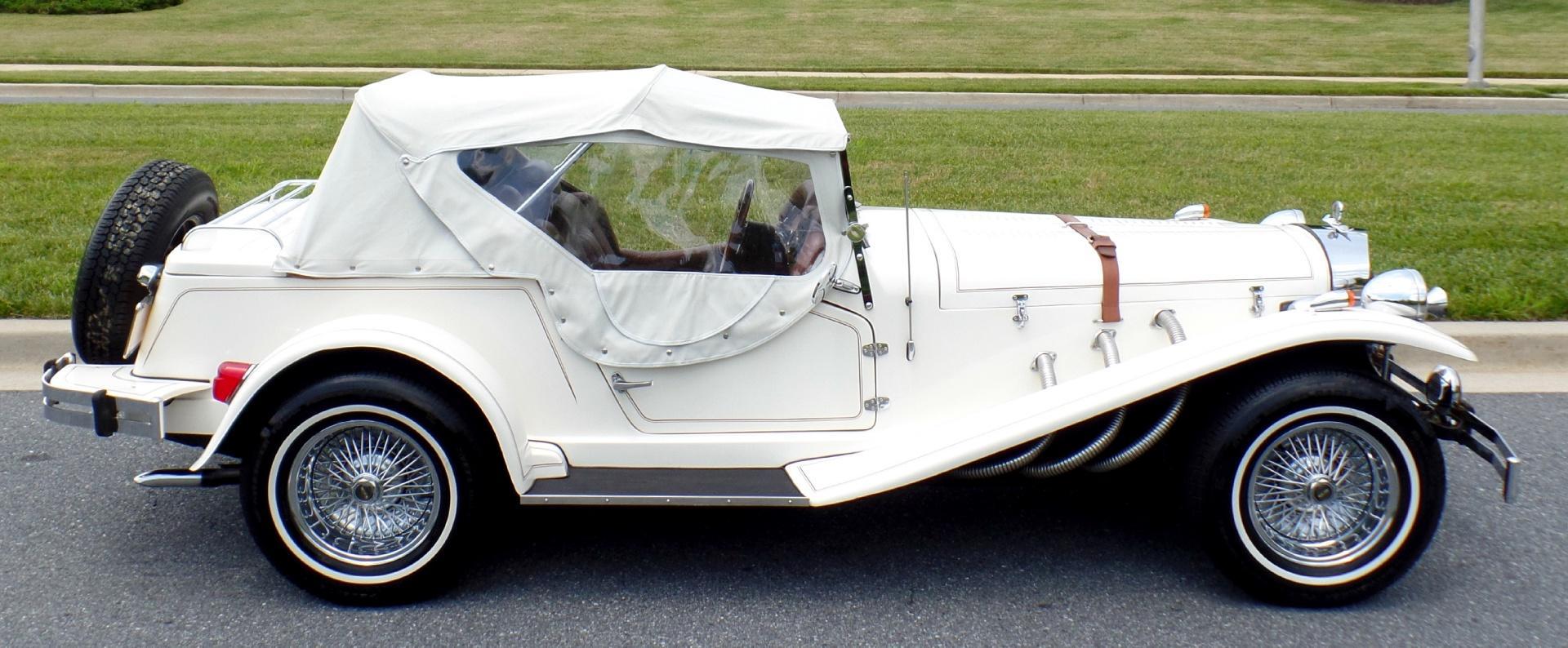 1929 Mercedes-Benz SSK Replica Roadster