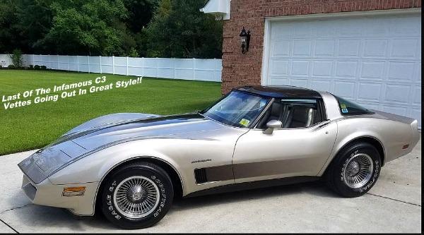 1982 Chevrolet Corvette - All Original - SOLD!!