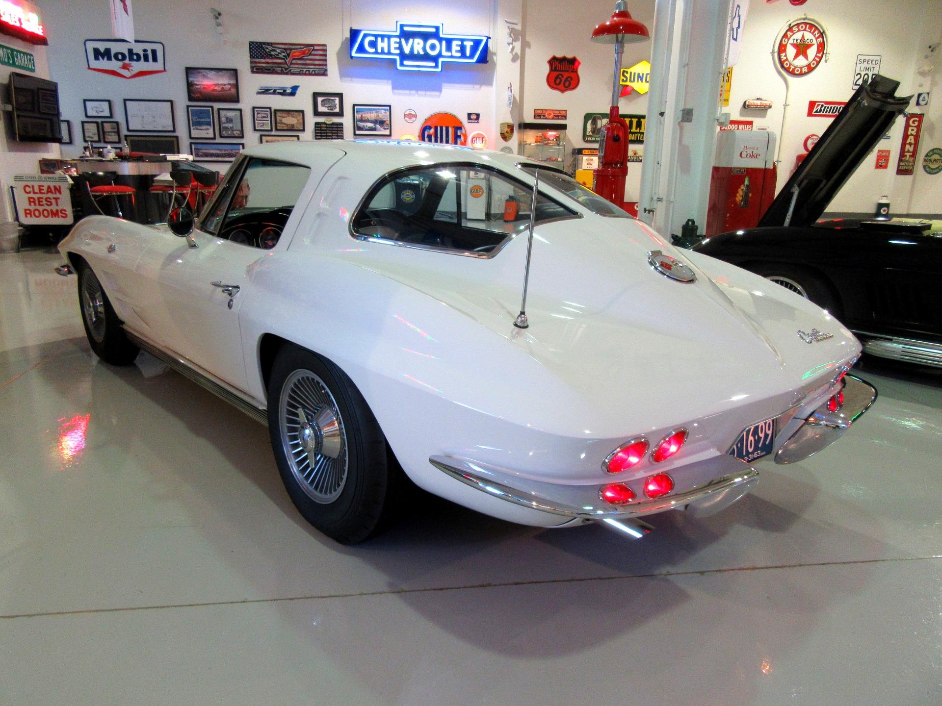 1963 chevrolet corvette stingray top flight split window rare. Black Bedroom Furniture Sets. Home Design Ideas