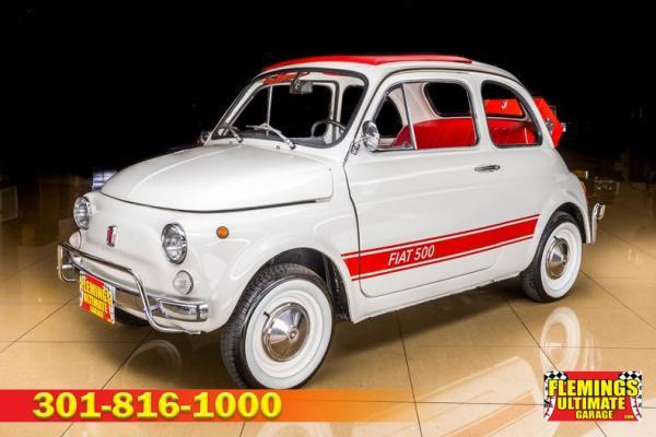 1970 Fiat 500 Cabrio