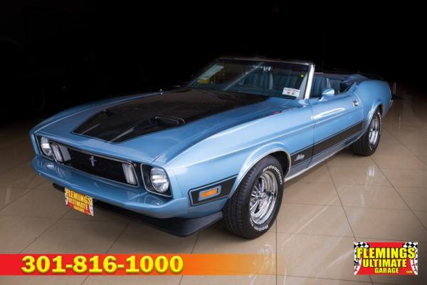1973 Ford Mustang Mach 1 convertible