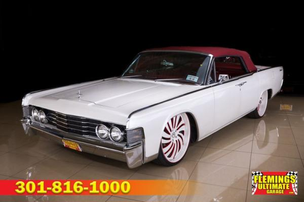 1965 Lincoln Continental Suicide door convertible custom