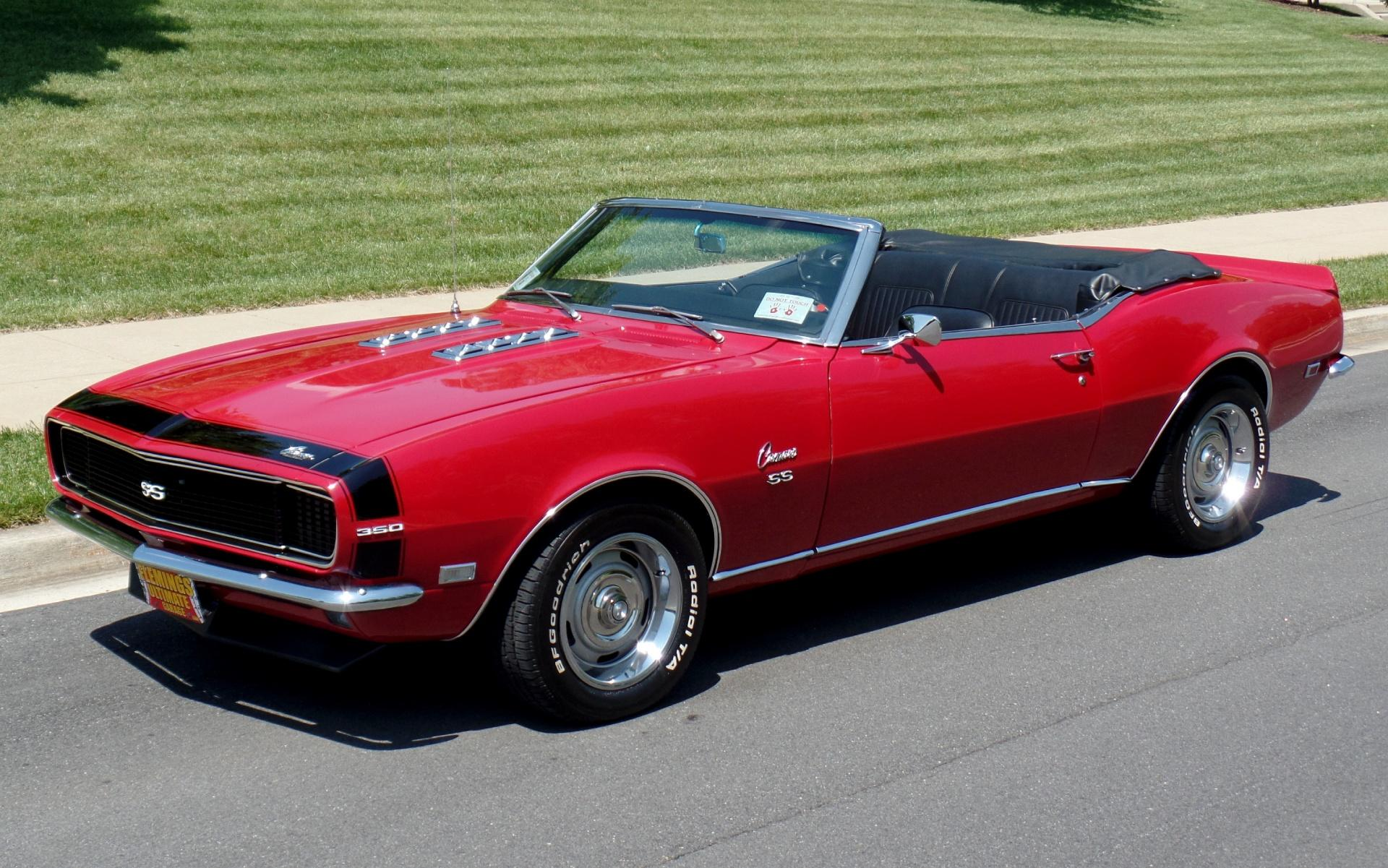 1968 Chevrolet Camaro SS Convertible with A C